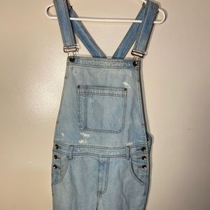 💙BDG Distressed Overalls💙